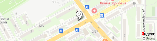 Магазин продуктов на карте Смоленска