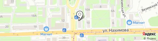 Стоматологическая поликлиника №1 на карте Смоленска
