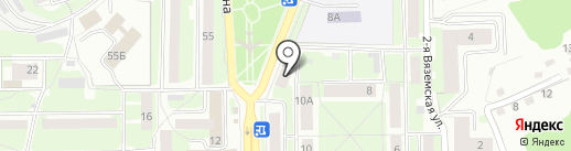 АдаНа на карте Смоленска