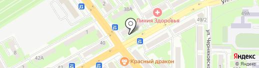 Светлана на карте Смоленска