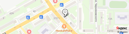 Курсор на карте Смоленска