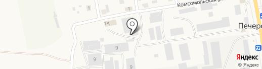 Аквалайф на карте Печерска