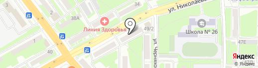 Nika nail на карте Смоленска