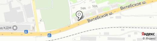 КПД на карте Смоленска