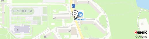 Киоск по продаже диабетических продуктов на карте Смоленска