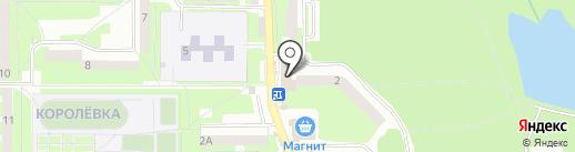 Участковый пункт полиции №3 в Заднепровском районе на карте Смоленска