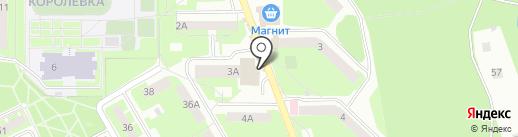 Арлекин Шоу на карте Смоленска