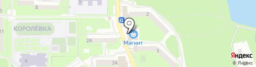 Киоск по продаже колбасной продукции на карте Смоленска