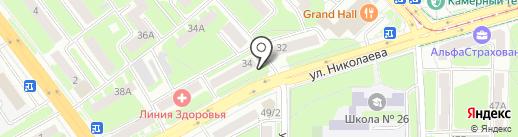 МигрантСервис на карте Смоленска