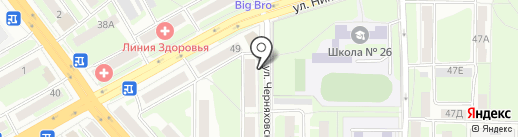 ПАТП на карте Смоленска