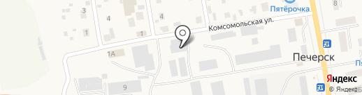 Бетонофф на карте Печерска