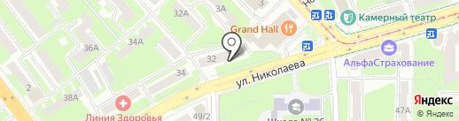 Genetic Media на карте Смоленска