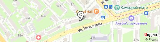 Цветочная мастерская Елены Подольской на карте Смоленска