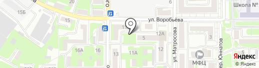 Фьюжн на карте Смоленска