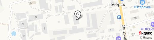 СмолИнжСтрой на карте Печерска