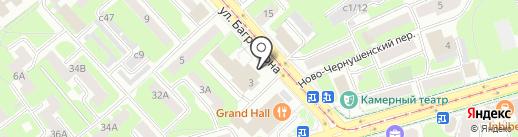 Учебно-методический центр по ГО и ЧС Смоленской области на карте Смоленска
