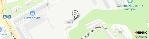 Училище олимпийского резерва на карте Смоленска