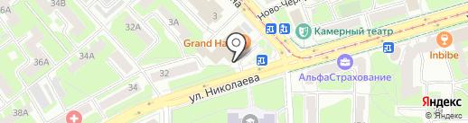 Zолотой на карте Смоленска