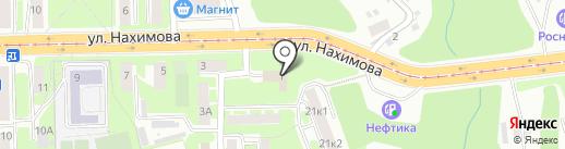 Сервис безопасности на карте Смоленска