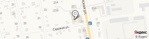 Магазин автоаксессуаров по ул. Минская на карте Печерска