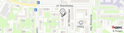 Аварийно-диспетчерская служба на карте Смоленска