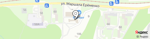 Золушка на карте Смоленска