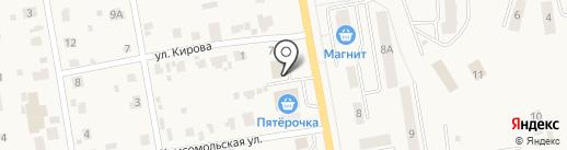 Участковый пункт полиции в пос. Печерск на карте Печерска
