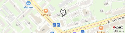 Мир антенн на карте Смоленска
