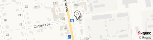 Киоск по продаже фруктов и овощей на карте Печерска