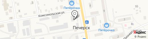 Техстройконтракт на карте Печерска