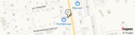 Вкусноедово на карте Печерска