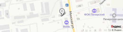 Торговая компания на карте Печерска