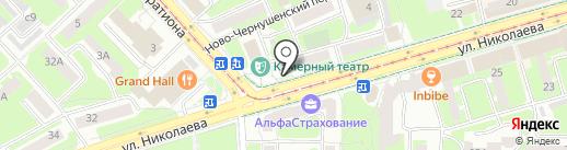 Наркологический кабинет на карте Смоленска