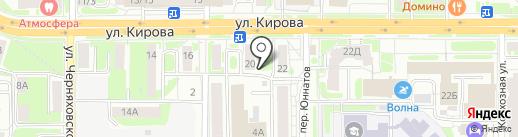 Центр здоровья волос и кожи №1 на карте Смоленска
