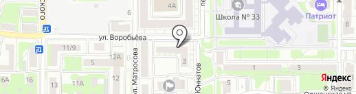Оконный Двор на карте Смоленска