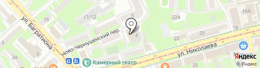 JUST PLAY на карте Смоленска