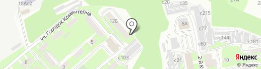 Художественная мастерская на карте Смоленска