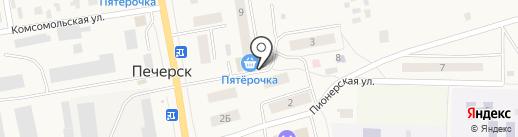 Пятерочка на карте Печерска