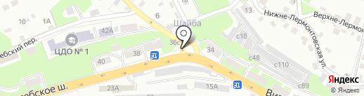 КрепЫж на карте Смоленска