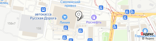 Обойный колорит на карте Смоленска