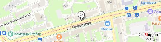 АвтоХим на карте Смоленска