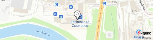 Кулинариум на карте Смоленска