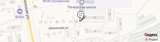 Гришин И.В. на карте Печерска