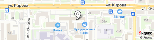 Едем на карте Смоленска
