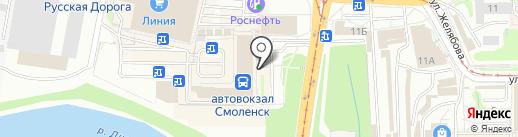 Уютный дом на карте Смоленска