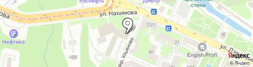 PIZZA-HOUSE на карте Смоленска