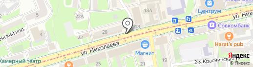 Mordex на карте Смоленска