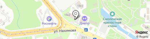 Смоленское областное объединение профсоюзов физкультурно-оздоровительных и спортивных организаций на карте Смоленска