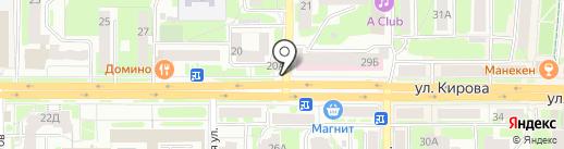 Пивной зал на карте Смоленска
