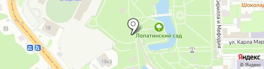 Сувениры нашего города на карте Смоленска
